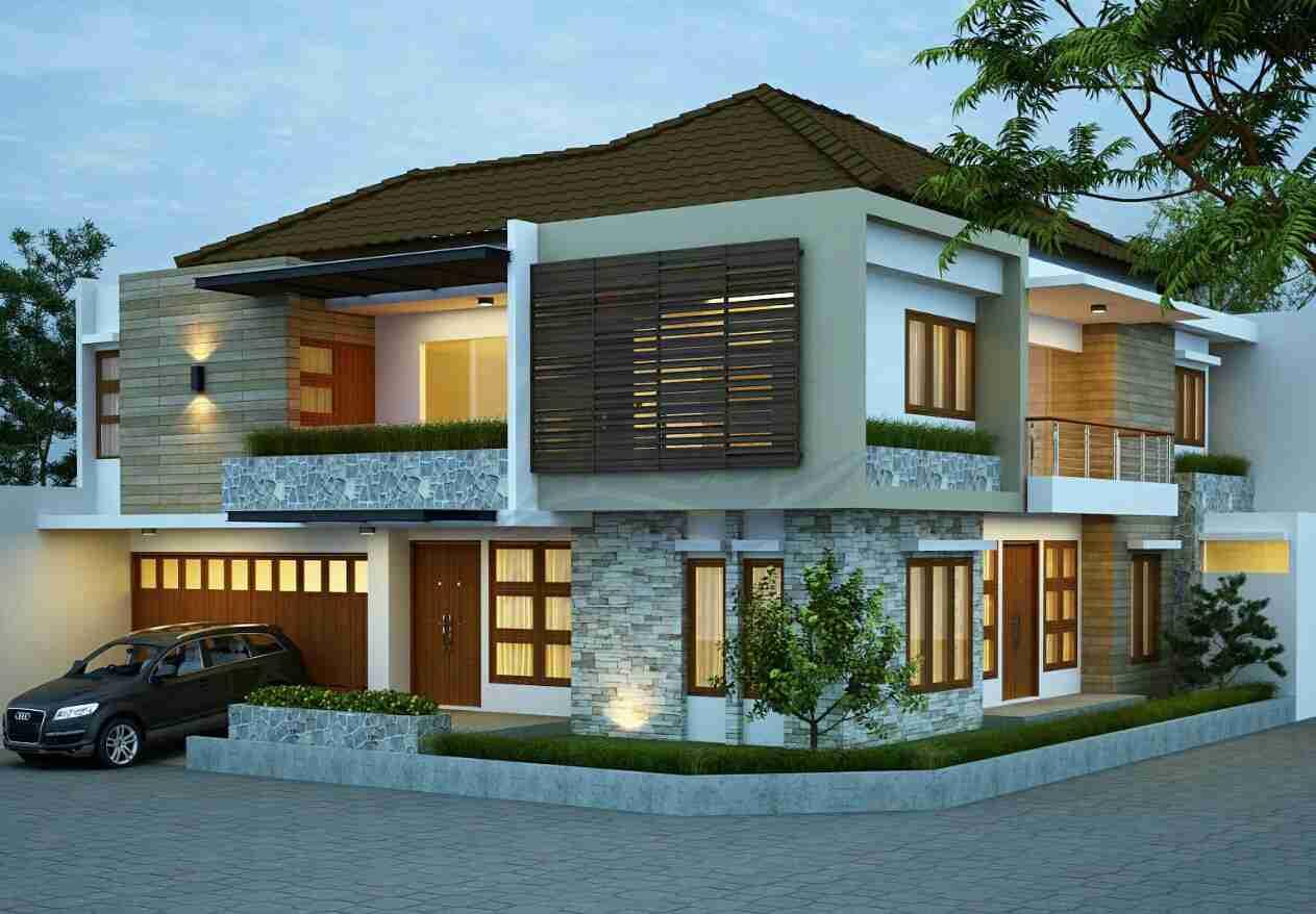 model desain rumah 2 lantai minimalis modern%2B20