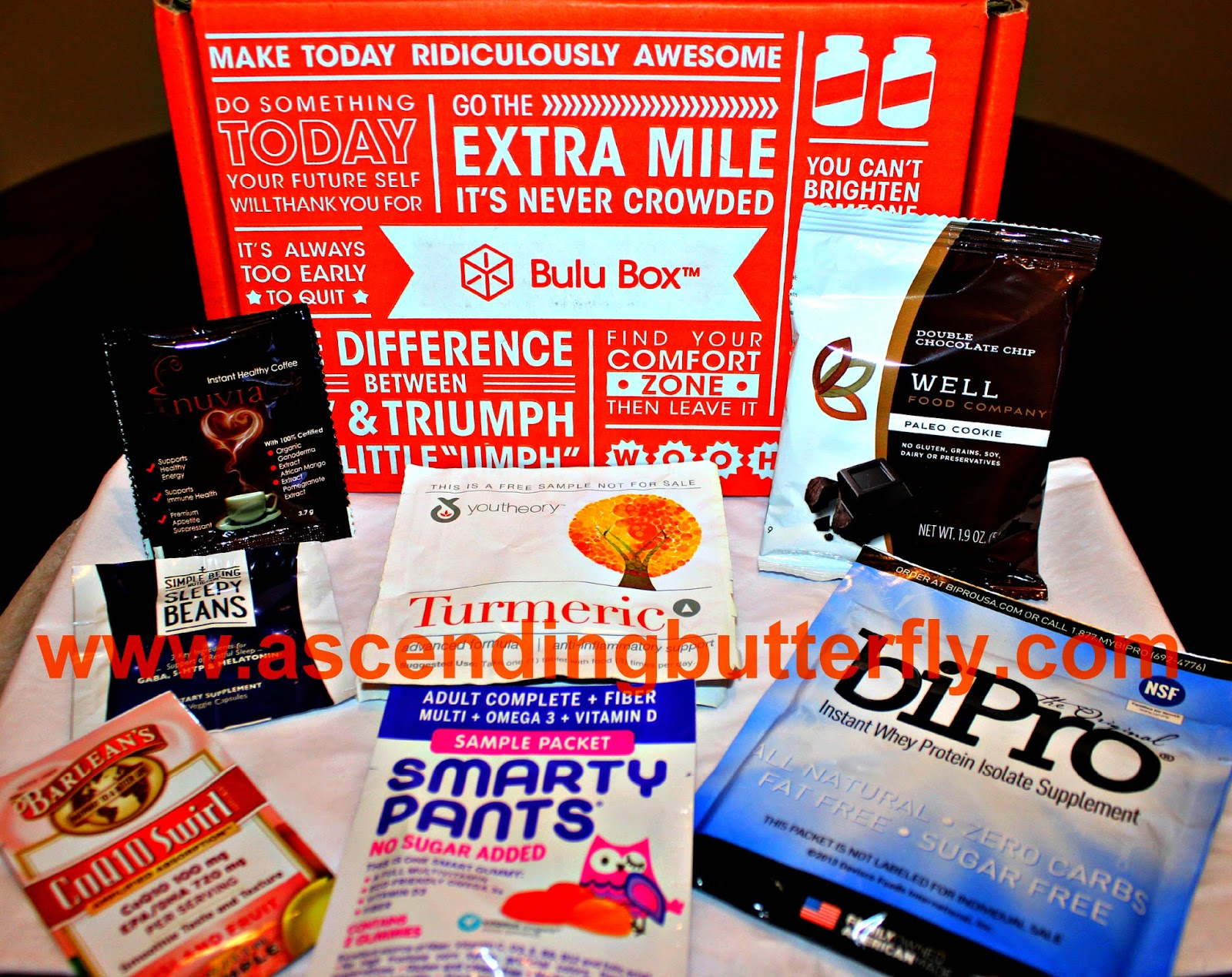 October 2014 BULU Health Subscription Box