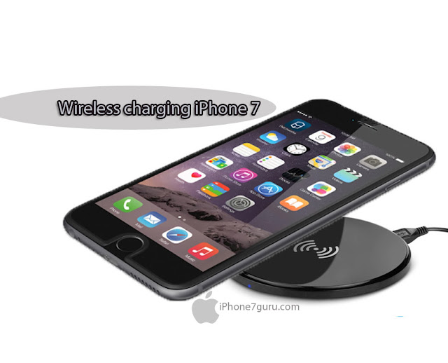 iPhone 7 Wireless Charging Concept.
