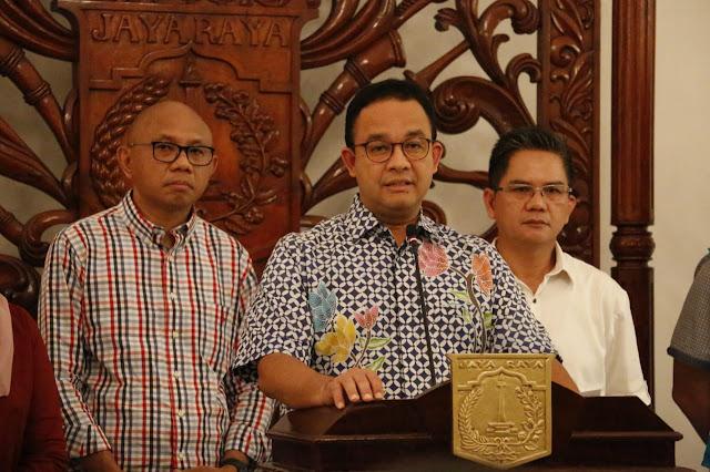 Dorong Social Distancing, Anies Modifikasi Pelayanan Transportasi Massal DKI Jakarta