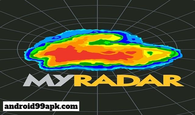 تطبيق MyRadar Weather Radar Pro لمعرفة حالة الطقس بحجم 34 MB للاندرويد