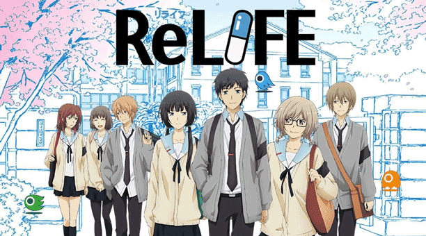 Anime Romance Slice of Life Terbaik - ReLIFE