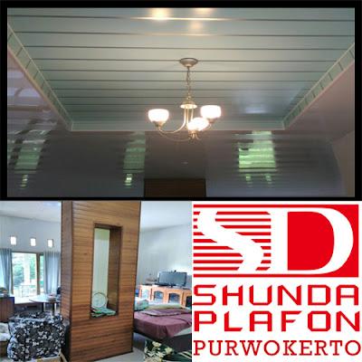Pemasangan Plafon Pvc Shunda di Rumah Bapak Purnomo | Shunda Plafon