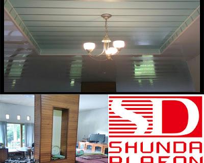 Pemasangan Plafon Pvc Shunda di Rumah Bapak Purnomo