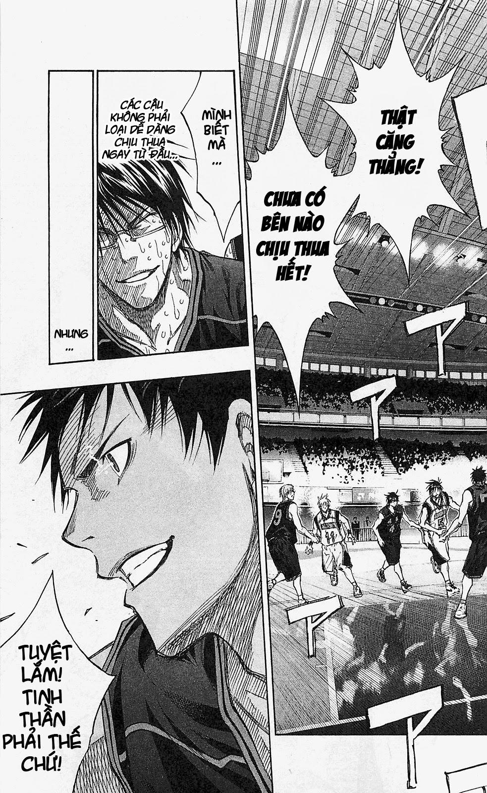 Kuroko No Basket chap 134 trang 15