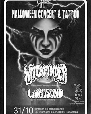 WITCHFINDER - Flyer (Doom, stoner)