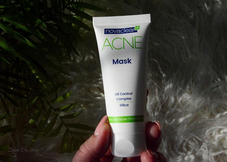 NovaClear ACNE Mask Matująca maska do twarzy recenzja