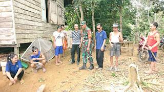 TMMD ke-105 Kodim Sintang Mantapkan Kemanunggalan TNI-Rakyat