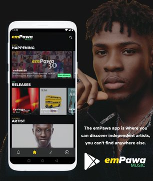 Mr Eazi Releases EmPawa Official Android App For Emerging Young African Artist | in Partnership With MTN