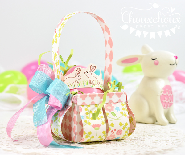 Make a Cute Easter Basket Video