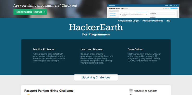 List of Websites to Explore Programming Challenges - The