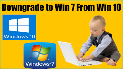 How To Downgrade To Windows 7 From Windows 10 Without Data Loss DVD USB Drive