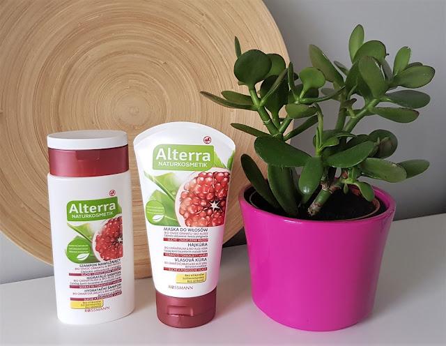 Alterra szampon nawilżający granat i aloes