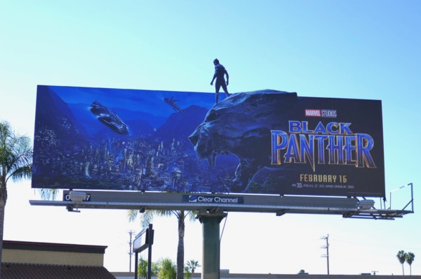 Black Panther special extension billboard
