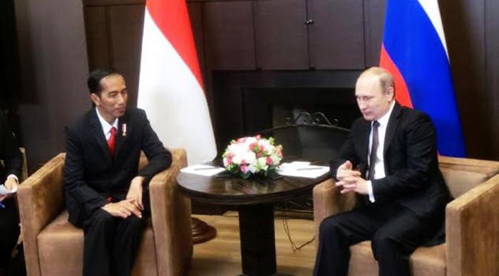 Jokowi - Fladimir Putin