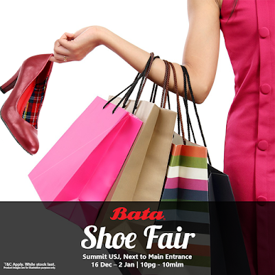 BATA Branded Shoe Fair Sale Summit USJ