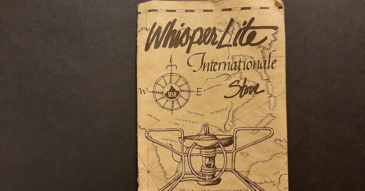 MSR Whisperlite Expedition Service Kit Multi-Fuel Stove Repair Servicing