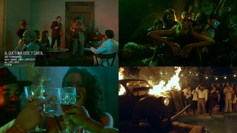 Ray Fernández - ¨Al que fuma, bebe y canta¨ - Videoclip - Dirección: Luis Lago. Portal Del Vídeo Clip Cubano
