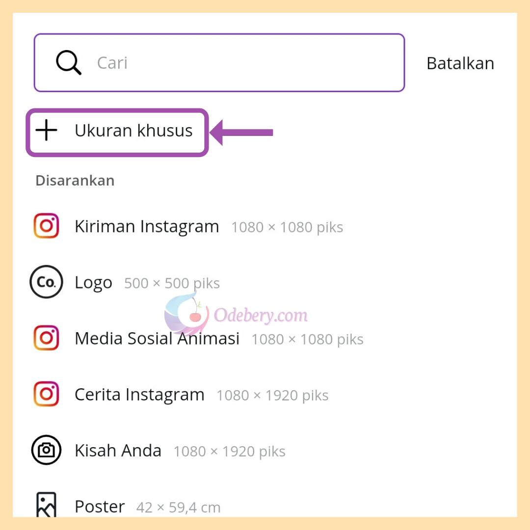 Cara membuat poster di hp dengan aplikasi canva