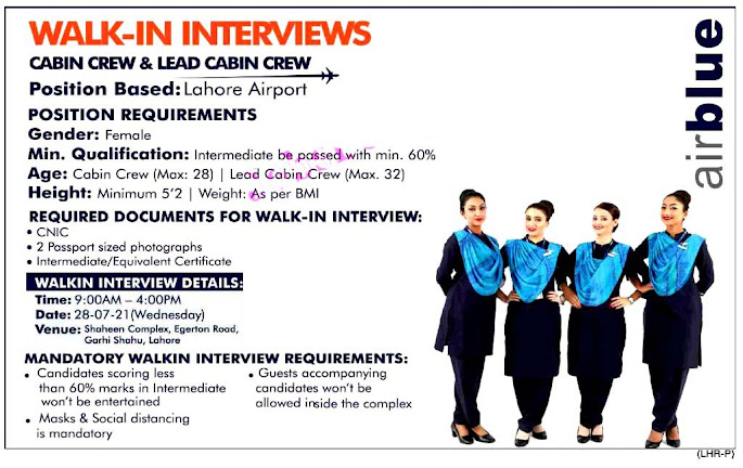 Latest Airbule Lahore Airport New Jobs Jobs 2021