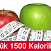 7 Günlük 1500 Kalorili Diyet