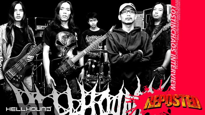HELLHOUND Interview (Malang, Indonesia)