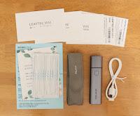 LEAFTEC MINI 加熱式たばこ 電子たばこ 互換機 Type C接続口採用 28分間急速充電 1本あたり約5分間または17回吸引可能 自動温度調整 自動清掃機能搭載 金属ボデー 軽量 小型 高級ギフトボックス 専用レザーケース付き (グレー)