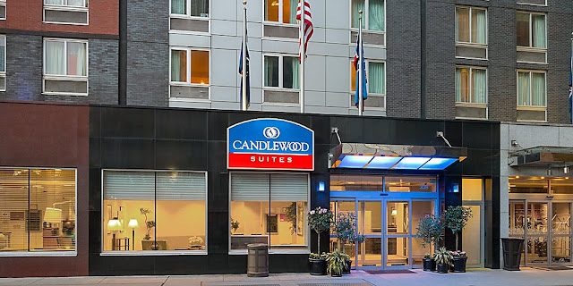 Surrounded by the electrifying Times Square, Candlewood Suites New York City Times Square is the perfect NYC location for your extended stay.
