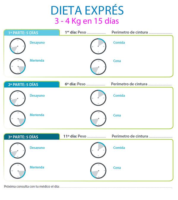 Dietas efectivas para adelgazar en 5 dias