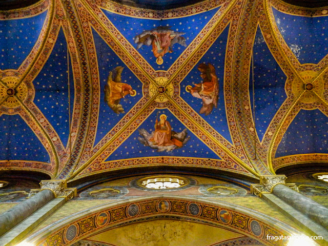Decoração do forro da Igreja de Santa Maria Sopra Minerva, Roma