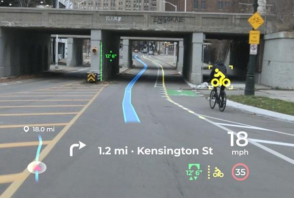 Panasonic Augmented Reality Head Up Display