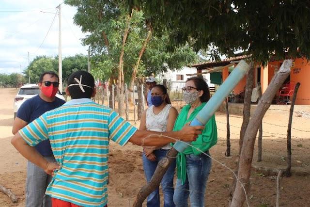 Início de governo de muito trabalho para a Prefeita Marineide Diniz em Carnaubais