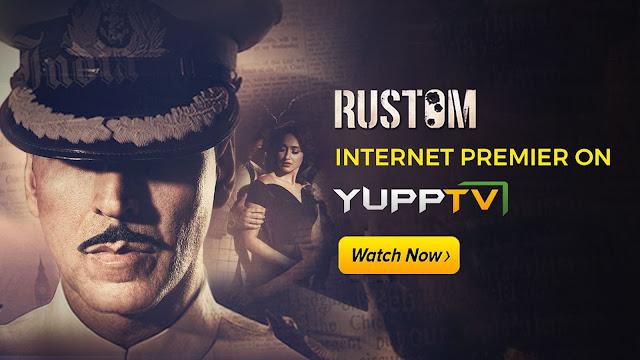 Rustom on YuppTV