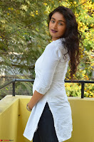 Kiran Chetwani in Denim and White Kurti  Exclusive 027.JPG