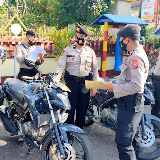 Siap Pengamanan Pilkades, Sabhara Cek Peralatan hingga Kendaraan Personel