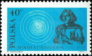Poland Portrait of Copernicus and Heliocentric System