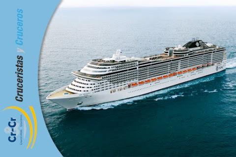MSC Cruceros, galardonada como mejor Compañía de Cruceros
