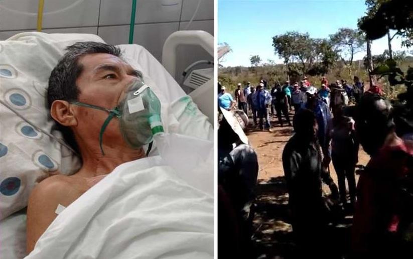 Lino Peña y otro joven fueron heridos por interculturales en Jerusalén III el 5 de julio /  EL DEBER