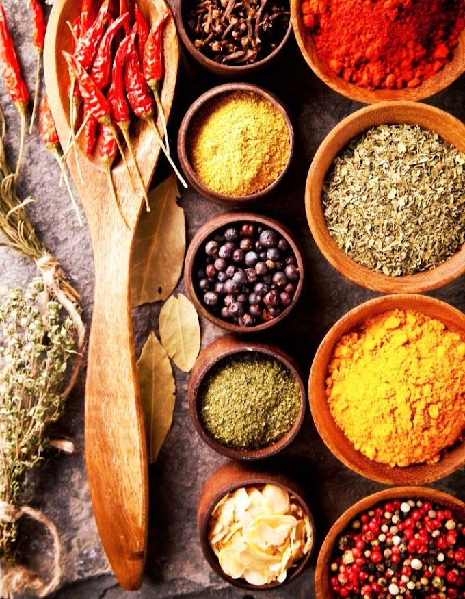 Types of spices used in different cuisine