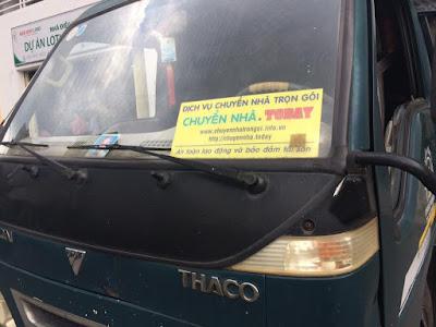 dịch vụ chuyển nhà quận bình tân  Thái Phong