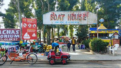 saputara lake boating