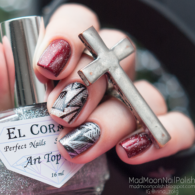 El Corazon Art Top Coat 421h/25 Large Hologram