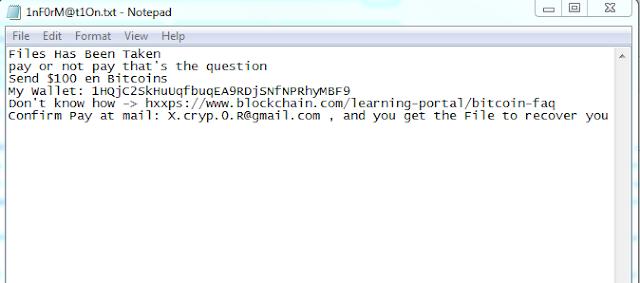 N2019cov - ficheros .P4WN3D (Ransomware)