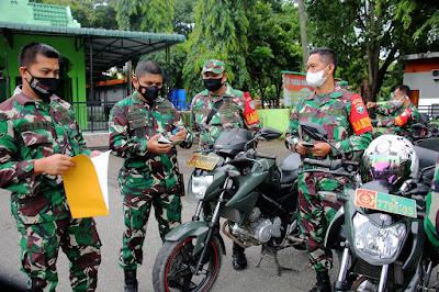 Kasdim 0101/Aceh Besar Tekankan Pengguna Randis Peduli Kondisi Kendaraannya