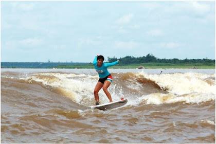 Bono Surfing: Pengalaman Berselancar Unik di Sungai Kampar, Indonesia