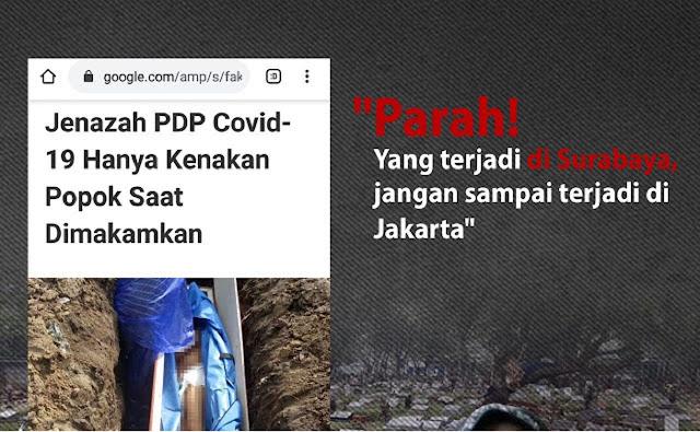 PARAH! Yang Terjadi di Surabaya Jangan Sampai Terjadi di Jakarta...