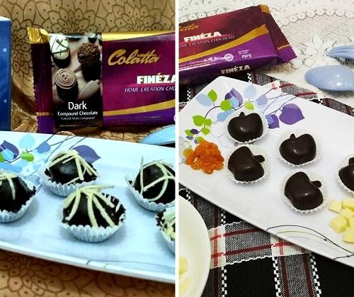 Resep Colatta Fineza Bola Tape Cokelat Keju dan Praline Keju