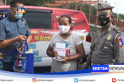 Polantas Tuban Gelar Vaksin Keliling Sasar Gelandangan Dan Tunawisma