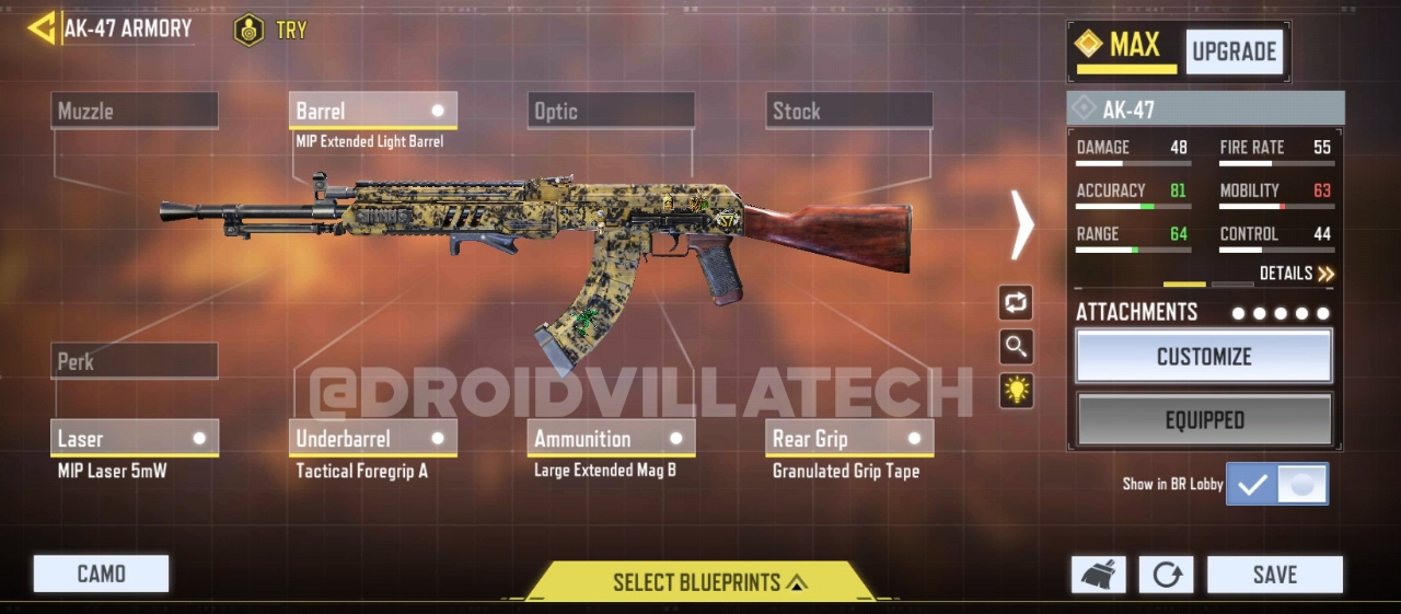 Cod mobile best Assault Rifles
