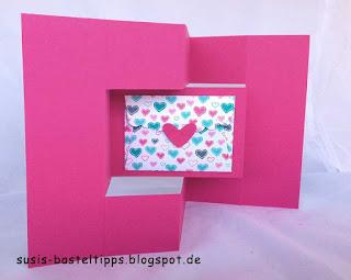 falttechnik Bastelkarte Geburtstag gutschein verpackung glückwunsch handgemacht designerpapier stampin up demonstratorin in coburg